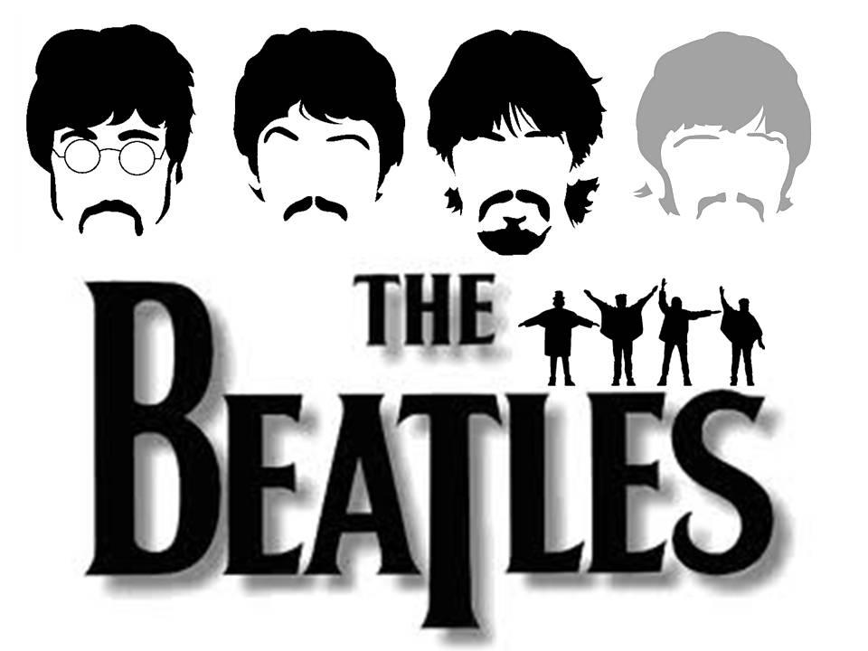 The Beatles logo b w | EngAGE Blog