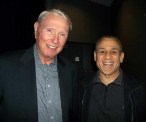 Claude Jarman Jr. with Experience Talks host John Semper Jr.